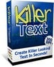 Thumbnail Killer Text - Create killer Looking Text In Seconds