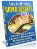 Thumbnail Article Writing Super Secrets