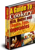 Product picture A Guide To Cookery - Milk, Butter and CheeseEggs Vegetables