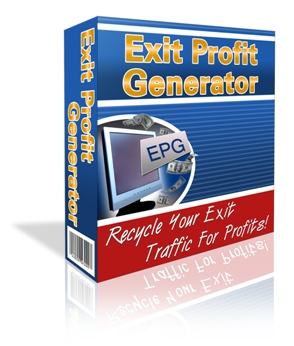 Product picture Exit Profit Generator - Recycle Your Exit Traffic For Profit
