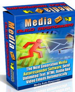 Product picture Media Auto Responder - Send Unlimited Text, HTML, Audio and