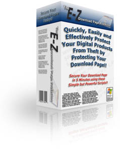 Product picture The E-Z Download Page Protector