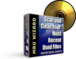 Product picture MRU Wizard - Search And Delete Your Most Recent Run Files